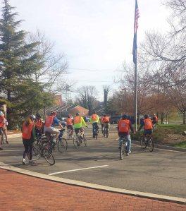 April Bicycle Tour